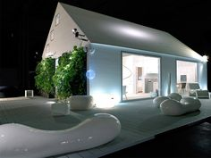 Italian Prefab Homes - wooden prefabricated house by Subissati.  a sustainable house design born from the notion that the home should be a manifestation of fashion, function, elegance, environmental responsibility and poetry in life. This modern, open concept house design features minimalist interiors with a futuristic edge, because everyday living should be simple, but never be boring. http://www.trendir.com/house-design/italian-prefab-homes-wooden-prefabricated-house-by-subissati.html
