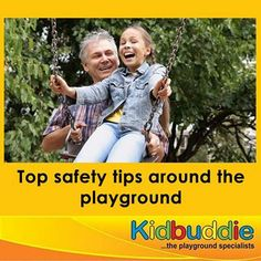 With active #supervision and some basic #safety tips (read more here - http://on.fb.me/1fSjlJE , every day at the #playground can be a walk in the park.