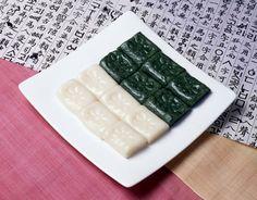Traditional Korean  rice  cake   !