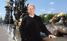 Dream man, dream city - Mark Harmon on the Pont Alexandre III in Paris