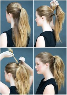 Easy Hairstyles For Women To Look Stylish In No Time Easy Hairstyles for Women are an all in one solution for getting an instant stylish look. Here are some selective step by step easy hairstyles to achieve Fast Hairstyles, Casual Hairstyles, Everyday Hairstyles, Weave Hairstyles, Girl Hairstyles, Easy Ponytail Hairstyles, Office Hairstyles, Cute Ponytails, Amazing Hairstyles