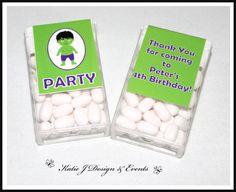 Hulk Tic Tac Labels #Hulk #Super #Hero #Heroes #Superhero #Personalised #Birthday #Bunting #Party #Ideas #Decorations #Ideas #Banners #Cupcakes #WallDisplay #PopTop #JuiceLabels #PartyBags #Invites #KatieJDesignAndEvents #Personalised #Creative