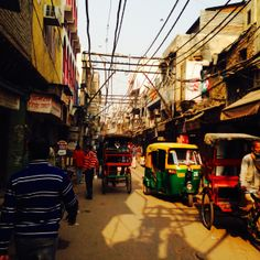 Chadni Chowk in Delhi, India.  March 2015.  BEEN THERE, DONE THAT.