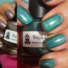 Vapid polishes: problem child (catch me if you can