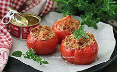 Pomodori farciti con tonno, ricetta gustosa al forno