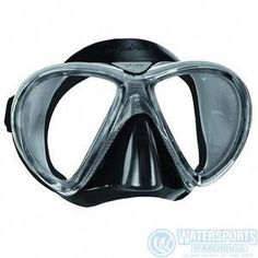 Mares X-VU Liquid Skin 2 Window Scuba Diving Mask, Black/Black: Using Liquid Skin technology designed after the X-vision. Beyond the natural comfort provided by Liquid Skin skirt, an additional soft silicone part is injected in the nose area. Scuba Diving Mask, Dive Mask, Best Scuba Diving, Padi Diving, Scuba Bcd, Scuba Watch, Diving World, Breathing Underwater, Scuba Diving Equipment