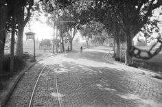 Carretera de Barcelona a Badalona a l'any 1930...igualet que ara!