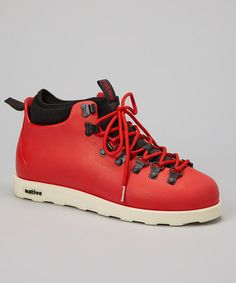 Take a look at this Torch Red Fitzsimmons All-Terrain Shoe by Native on #zulily today!