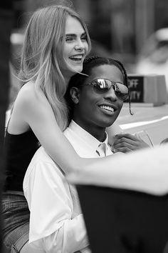 Cara Delevingne & A$AP Rocky