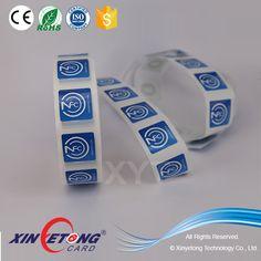 13.56MHZ 1K S50 RFID NFC Sticker With Custom Logo Printing