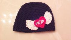 Crochet Valentine's Baby Boy Hat by WeeCrochetByLindsay on Etsy, $12.00