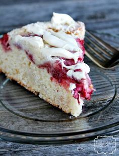 Strawberry and Cream Cheese Coffee Cake - Heather's French Press