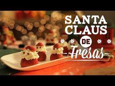 ¿Cómo preparar Santa Claus de Fresas? - Prepara unos ricos y divertidos bocadillos dulces para la cena de #Navidad, checa este tip que #CocinaFresca tiene para ti.  Descubre muchas recetas más para saborear en #Navidad en CocinaFresca.  #CocinaFresca es presentada por Walmart ¡Suscríbete!