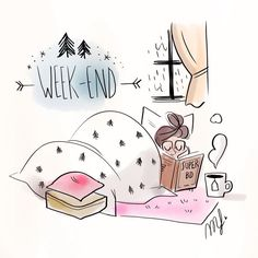 Magalie illustration - Weekend