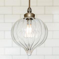 Ava Bathroom Pendant Light Fluted Glass Period Contemporary Lighting