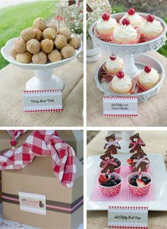 Adorable Vintage Teddy Bear Picnic Party styled by Lillypaul Designs featured on Printed Ink