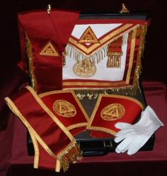 Royal Arch Chapter Grand Chapter Regalia with Case