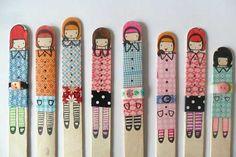 knutselen, ijsstokjes, ijs, stokjes, stok, masking tape, tape, plakband, gekleurd, vrolijk, kind, maken, diy, kleuren, kleurpotloden, kleurp...