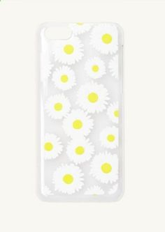Daisies Clear iPhone 5C Case | Cases  Charms | rue21