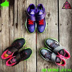"""Nike Zoom KD IV """"KDeezy"""" Customs by Gourmet Kickz"""