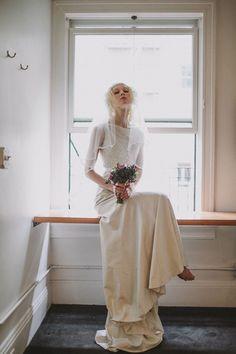 Moody Bridal Portraits at Ace Hotel Portland