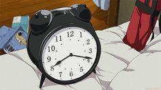 Blue exorcist/ ao no exorcist Rin. So it seems that both Rin and I have something in common. We both hate alarm clocks. Ao No Exorcist, Blue Exorcist Funny, Blue Exorcist Anime, Rin Okumura, Otaku, Anime Gifs, Manga Anime, Shiro, Exorcist Quotes