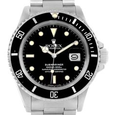 Rolex Submariner Vintage Stainless Steel Mens Watch 1680 //  Worn by James Bond in Dr. No, 1962