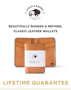 Stock & Barrel: Wallets That Look Better With Age | Indiegogo