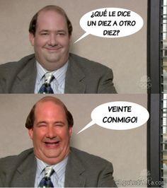 Humor Financiero - ¿Qué le dice un 10 a otro 10?... (#humor)