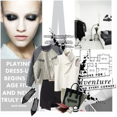 """Playing dress-up begins at age five and never truly ends."" by blackpearls on Polyvore"