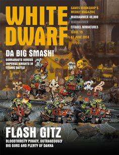 Mis Olvidadas Figuras: White Dwarf Weekly