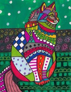 Gato colores mejicano