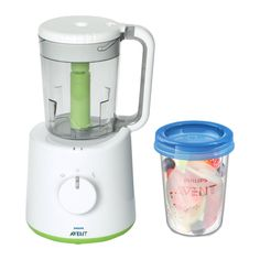Philips-Avent Robot of Kitchen for Baby Food and 5 Preserve Jars Philips Viva Collection, Noodle Maker, Pots, Yogurt Maker, Pasta Maker, Small Kitchen Appliances, Baby Food Recipes, Preserves, Bubbles