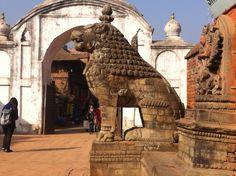Stone Sculpture in Bhaktapur Durbar Square