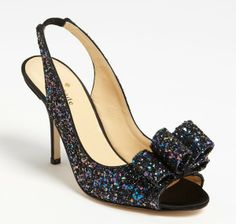 KATE SPADE New York Glitter Shoes Black $295 FREE WORLD DELIVERY * FREE GIFT WRAPPING * FREE RETURNS * 100% QUALITY ASSURANCE GUARANTEED..FOLLOW US ON POLYVORE! WE HAVE JUST BEEN HONORED WITH THE OFFICIAL BLACK SEAL ALONG WITH GUCCI & OTHER GREAT COMPANIES! SAVE $30.00 ON THESE SHOES UNTIL DEC 21st!