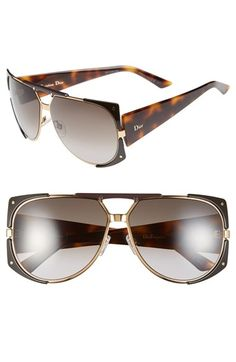 968f07a8ece Dior 62mm  Enigmatic  Metal Shield Sunglasses available at  Nordstrom  Latest Sunglasses