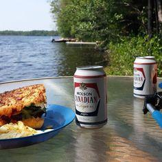 Dinner on the lake....#letsgetyoufree #farmingninja #ninjadad #ninja #father #lake