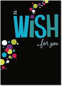 Special Wish.   Personalized birthday cards from Treat.com #birthday #wish