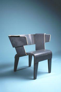 Gerrit Rietvelt, Danish Arm Chair, 1949.