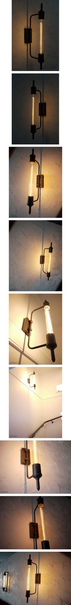インダストリアルウォールランプ ブラケットライト照明器具W002 - ヤフオク!
