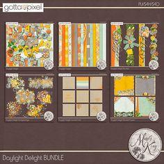 Daylight Delight BUNDLE :: Gotta Pixel Digital Scrapbook Store