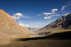 Spiti Riverbasin - Spiti Riverbasin - on the way to Spiti Valley Himachal Pradesh - India