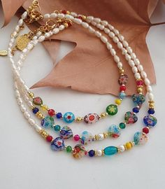 Beaded Choker Necklace, Pearl Choker, Eye Necklace, Necklace Price, Glass Gemstone, Glass Beads, Fashion Jewelry, Jewelry Shop, Handmade Jewelry