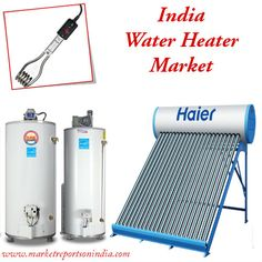 The #waterheaters industry is filled with large number of organized #manufacturers in #India