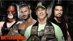 John Cena Vs Roman Reigns Vs Randy Orton Vs Kane