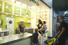 Beansprouts Cafe at the Seattle Center Armory #Seattle #Beansprouts #kids #cafe #design #hospitality #Boxwood #restaurant #brand