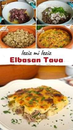 Elbasan Pan (video) How to describe it? 2851 Elbasan Tava people in the book (video) described the pictorial narrative and photos of attempting here. Turkish Recipes, Ethnic Recipes, Meat Recipes, Healthy Recipes, Turkish Kitchen, Iftar, Food Videos, Food To Make, Main Dishes