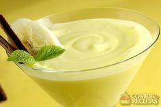 Receita de Mousse de banana com limão - Comida e Receitas