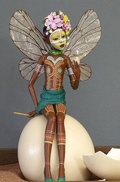 Earth Spirit doll by Jim Cardosa and Kat Soto