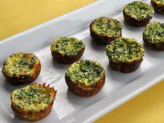 Broccoli and Cheddar Mini Frittatas | Recipes | Spoonful